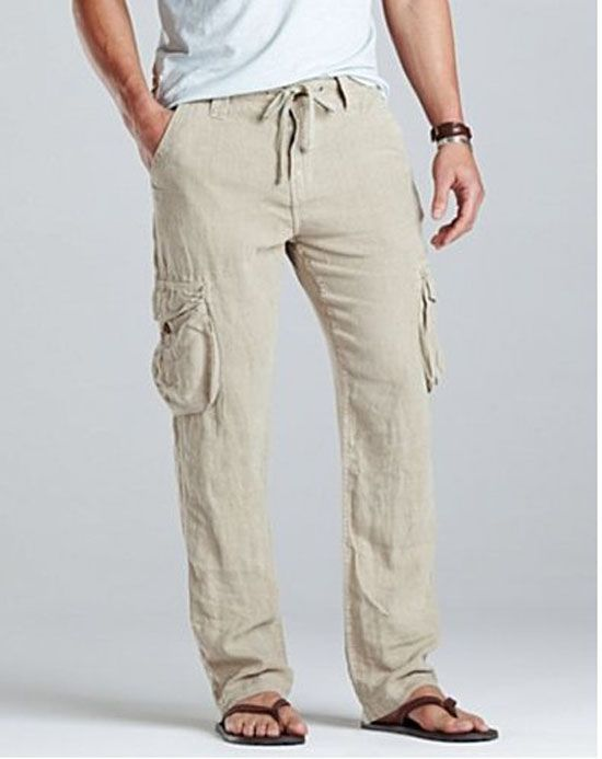 Top 10 Men's Linen Pants | Mens linen pants, Mens linen outfits .