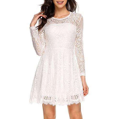 Lace Dress Long Sleeve: Amazon.c