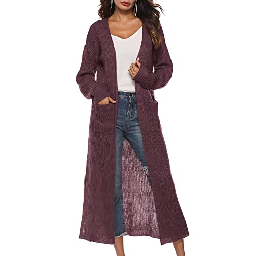 Long Hooded Maxi Sweaters: Amazon.c