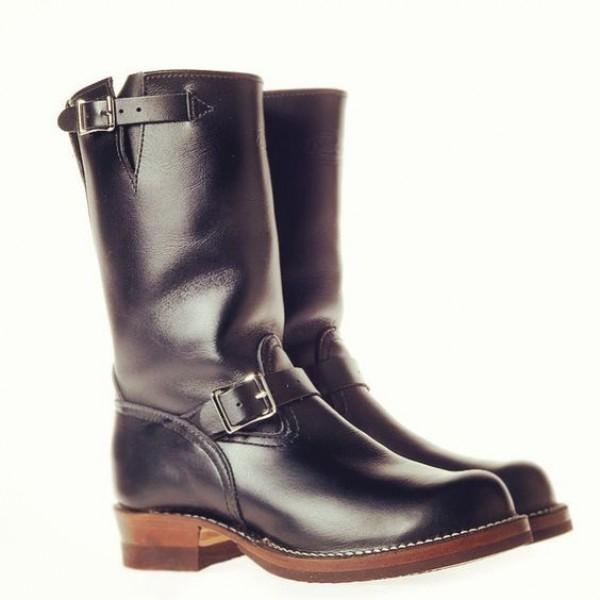 Men's Engineer Boot - Leather Engineer Bo