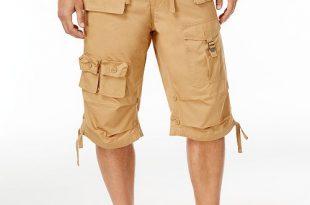 "Sean John Men's Big & Tall 15"" Classic Flight Cargo Shorts ."