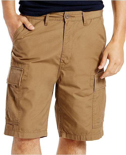 Levi's Men's Carrier Loose-Fit Cargo Shorts & Reviews - Shorts .