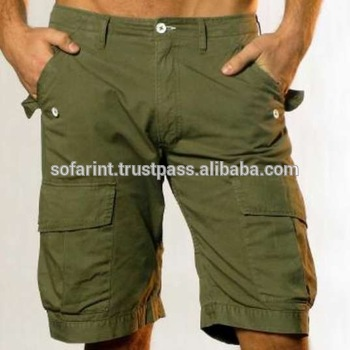 Olive Cargo Short/ 6 Pocket Cargo Shorts/ Mens Cargo Shorts - Buy .