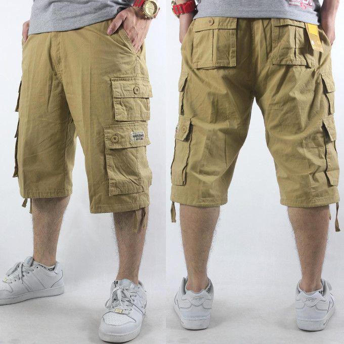 long baggy cargo shorts - Google Search | Cargo shorts men, Cargo .