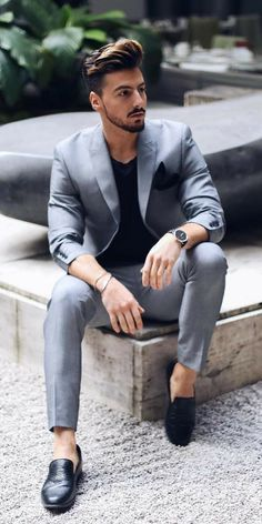 11 Edgy Ways To Dress Up Like A Style Icon   Formal mens fashion .