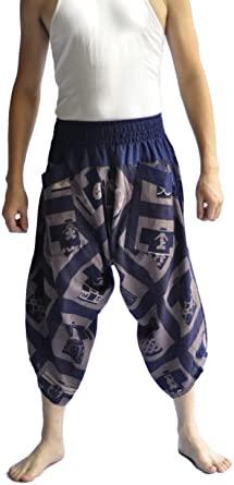 Amazon.com: Siam Trendy Mens Harem Pants Design Japanese Style .