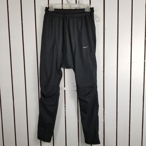 Nike Pants | Harem Black Joggers Mens Size S | Poshma