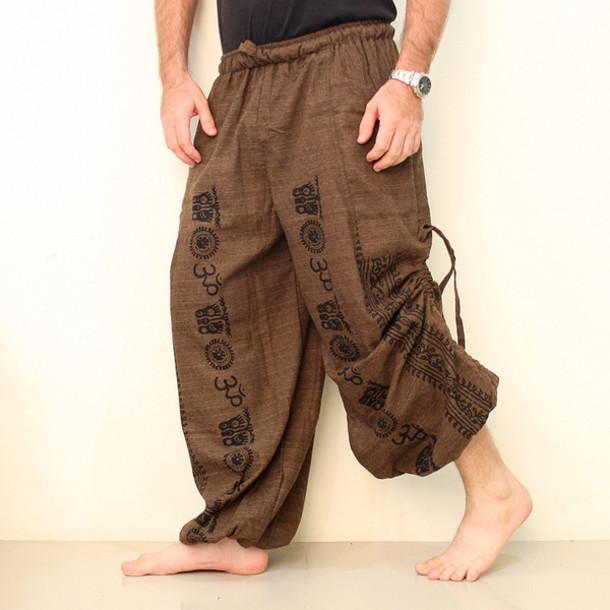 pants, esiamcenter, mens harem pants - Wheretog