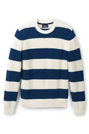 Men's Drifter Striped Cotton Jumper | Cotton jumper, Jumper, Mens .