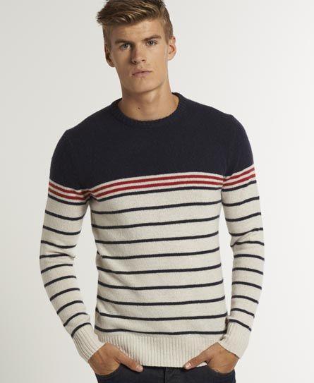 Superdry Rigger Crew - Men's Jumpers | Camisas masculinas, Moda .