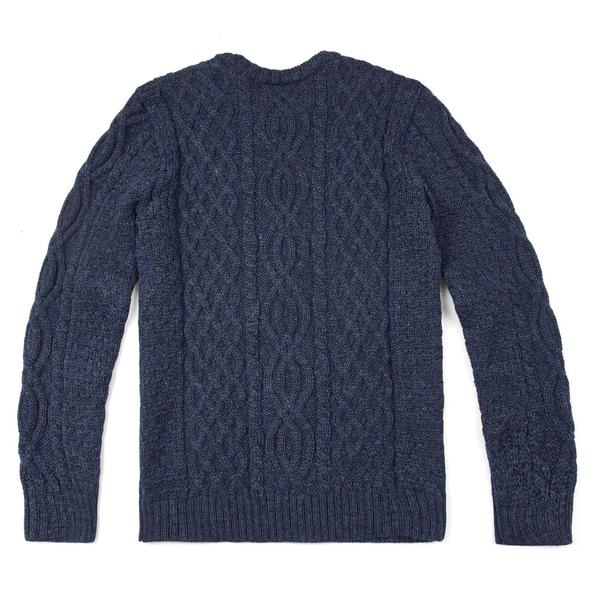 Mens Chunky Cable Sweater - 100% British Wool – Paul James Knitwe