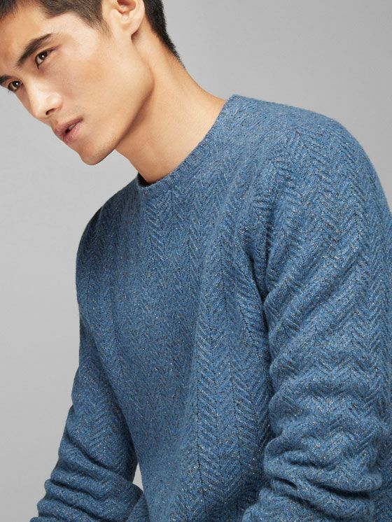 Men's Jumpers and Cardigans | Massimo Dutti | Men sweaters pattern .