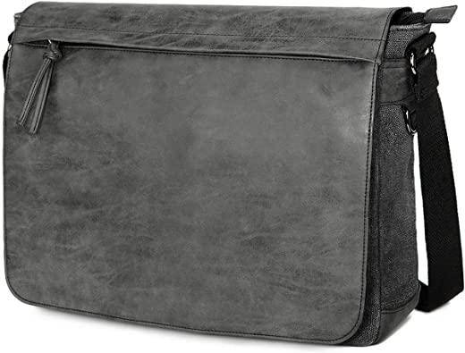 """Amazon.com: Mens Laptop Messenger Bags 15.6"""" Water Resistant ."""