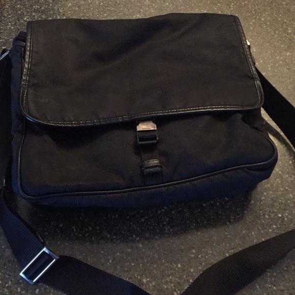 Prada Bags   Black Mens Messenger Bag   Poshma