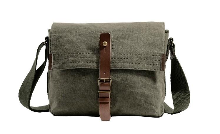 Best mens messenger bag, shoulder bag for school - BagsEar