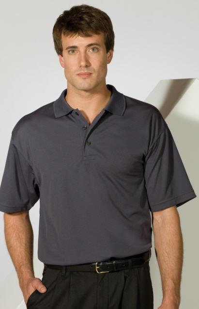Men's Moisture Management Hi-Performance Polo Shirts .