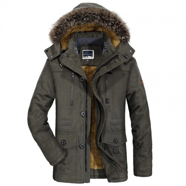 Mens New Fashion Winter Jacket Men Thick Casual Outwear Jackets .