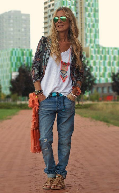 modern hippie   Fashion, Boho outfits, Boho fashi