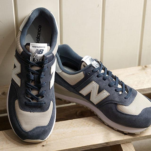 SHOETIME: New Balance newbalance ML574 ESQ men Lady's sneakers .