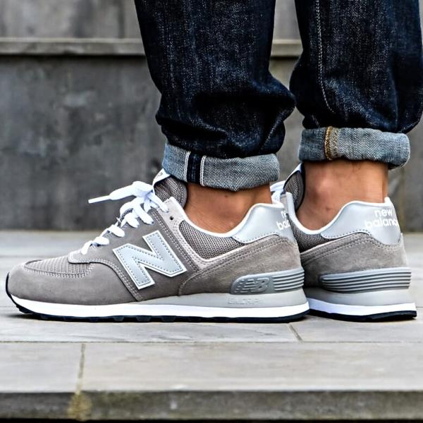 New Balance ML574 EGG Trainer Sneakers Grey Size 8 9 10 11 12 Mens .