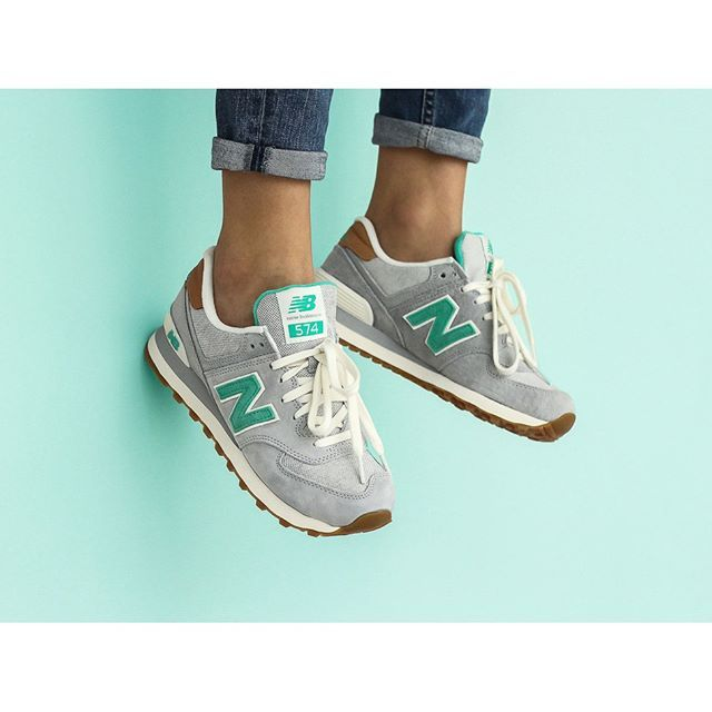 """New Balance womens WL574BCB """"Light Grey"""" is now available at our ."""