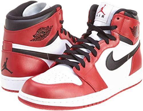 Amazon.com | Nike Mens Air Jordan 1 Retro High Chicago Leather .