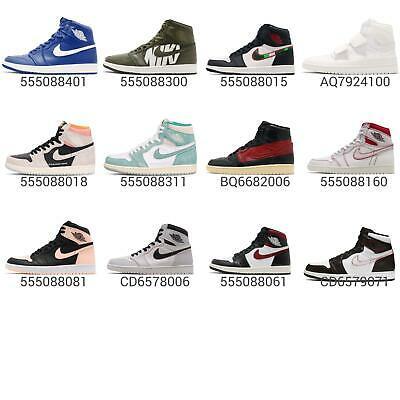Nike Air Jordan 1 Retro Hi AJ1 High OG / PREM Men Shoes Sneakers .