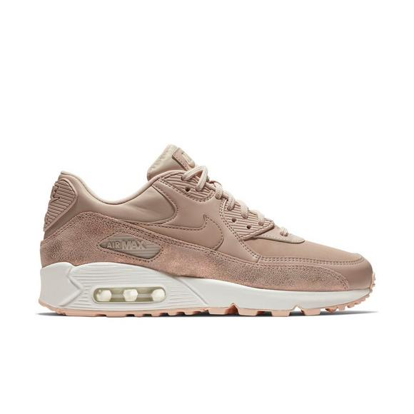 "Nike Air Max 90 Premium ""Particle Beige"" Women's Shoe - Hibbett ."