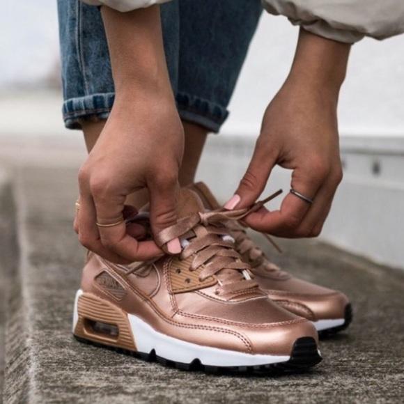 Nike Shoes | Air Max 90 Rose Gold Womens | Poshma