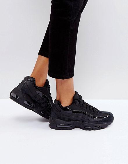 Nike Air Max 95 Sneakers In All Black size 10.5 ASOS   Nike air .