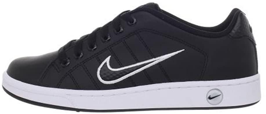 Amazon.com: Nike Court Tradition II (10.0, Black/Black-White): Sho