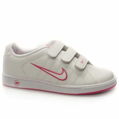 Nike Court Tradition Strap Casual, tennis inspired shoe from Nike .