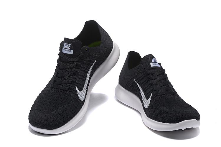Nike Free Flyknit 5. 0 Black White 831069 001 Mens Womens Running .
