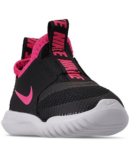 Nike Toddler Girls' Flex Runner Slip-On Athletic Sneakers from .