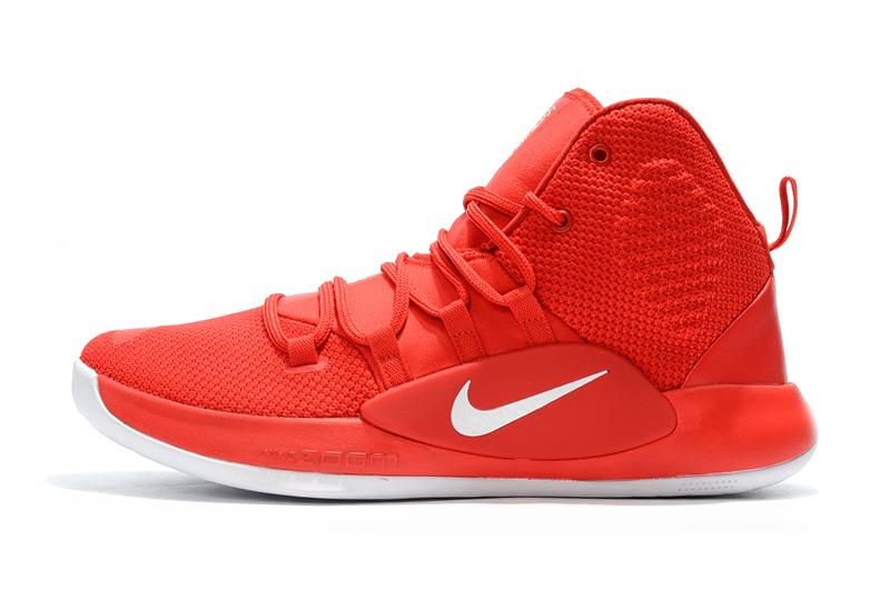 Cheap Nike Hyperdunk X University Red/White Men's Basketball Shoes .