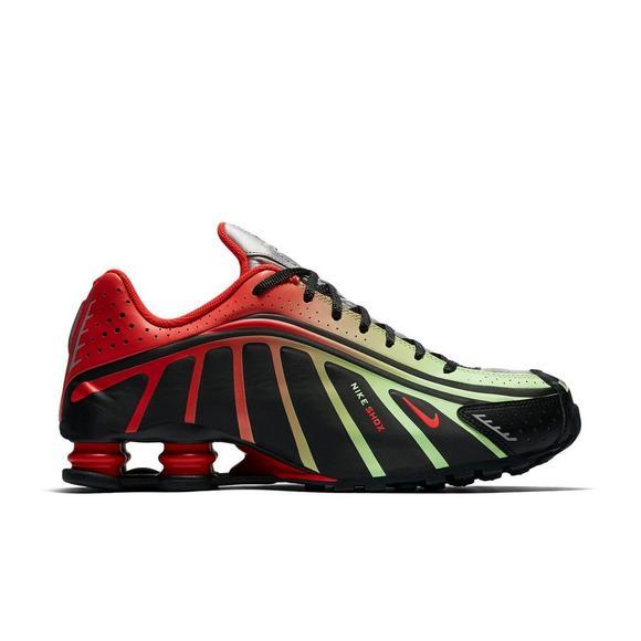 "Nike Shox R4 Neymar Jr. ""Black/Challenge Red"" Men's Shoe - Hibbett ."