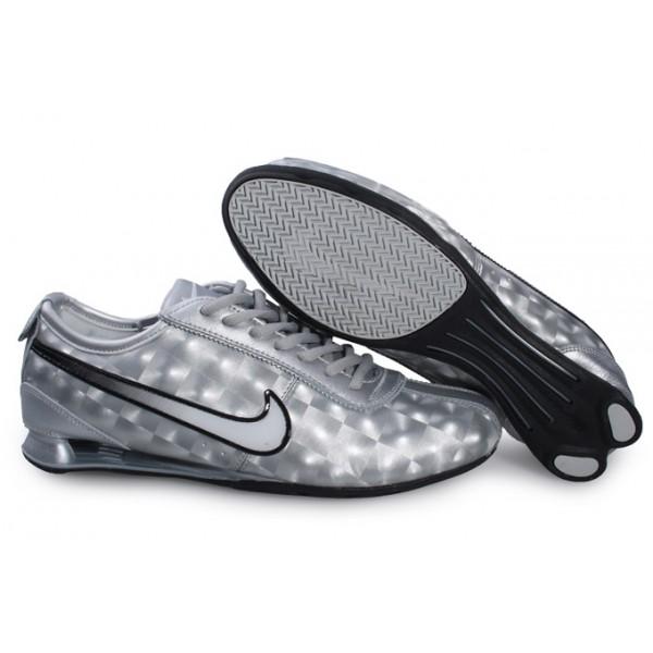 316317-021 Nike Shox Rivalry Silver Silver J12035 [Nike_5837 .
