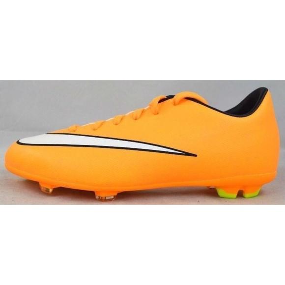 Nike Shoes | Kids Jr Orange Victory Soccer Cleats | Poshma