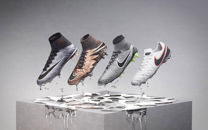 Nike To Drop Liquid Chrome Soccer Cleats & Turf Shoes – Footwear Ne