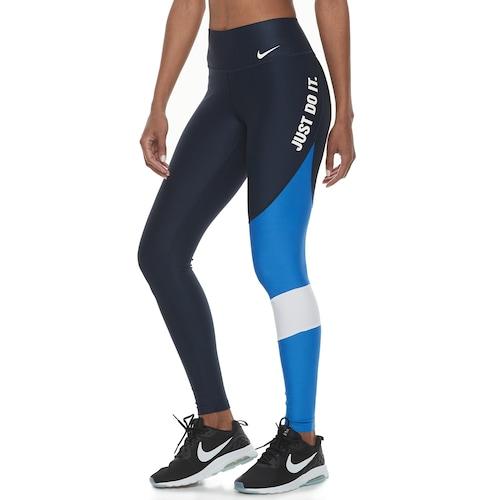 Women's Nike Power Graphic Training Midrise Tigh