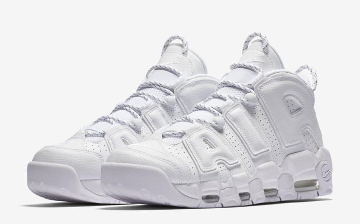 Nike Uptempo 'Triple White' Pack Sneaker Release – Footwear Ne