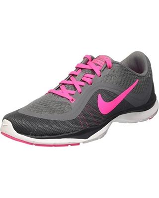 New Savings on NIKE Women's Flex Trainer 6 Training Shoes Grey .