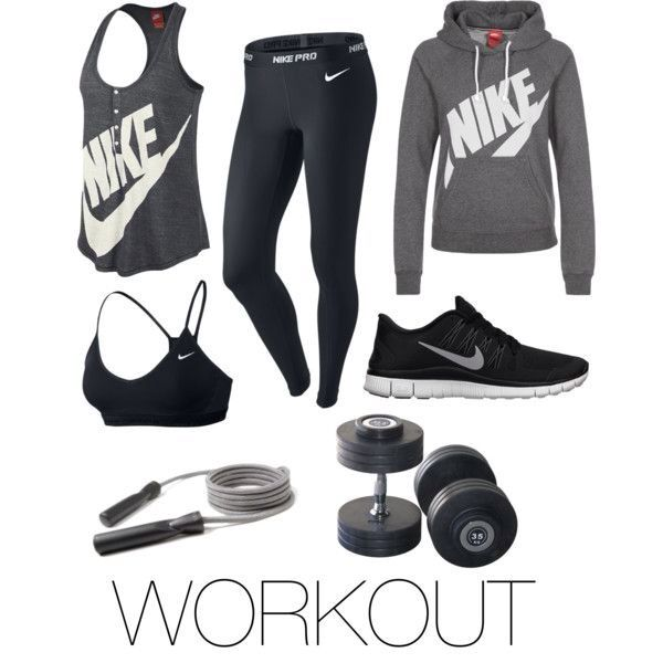 Nike Workout Outfit and Gear in 2020 | Cute workout outfi
