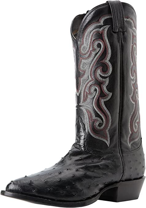 Amazon.com | Nocona Boots Men's MD8501 Boot, Black Full Quill, 7.5 .