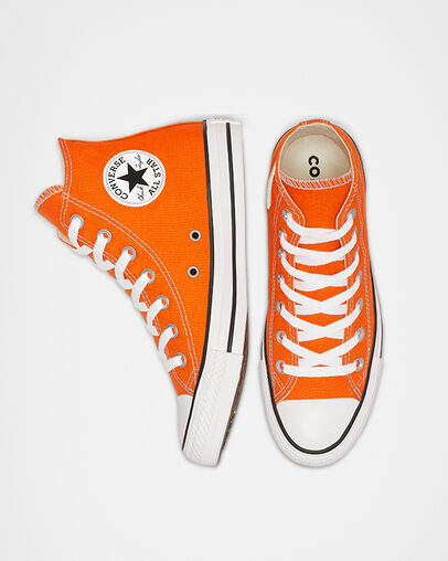 Orange Converse Shoes: Low & High Top. Converse.c