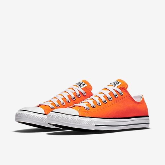 Converse Shoes | Orange Low Top | Poshma