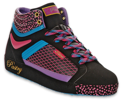 Pastry Shoes » Pastry Black Neon Berry Hito