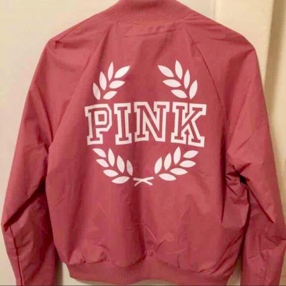 PINK Victoria's Secret Jackets & Coats | Vs Pink Jacket | Poshma