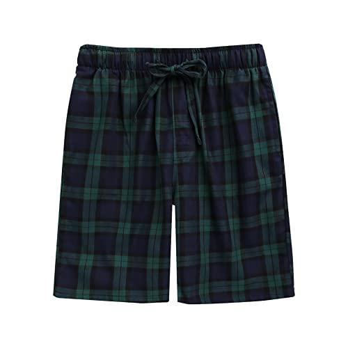 Green Plaid Shorts: Amazon.c