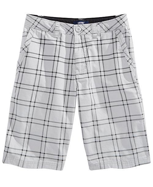 Univibe Big Boys Equator Plaid Shorts & Reviews - Shorts - Kids .